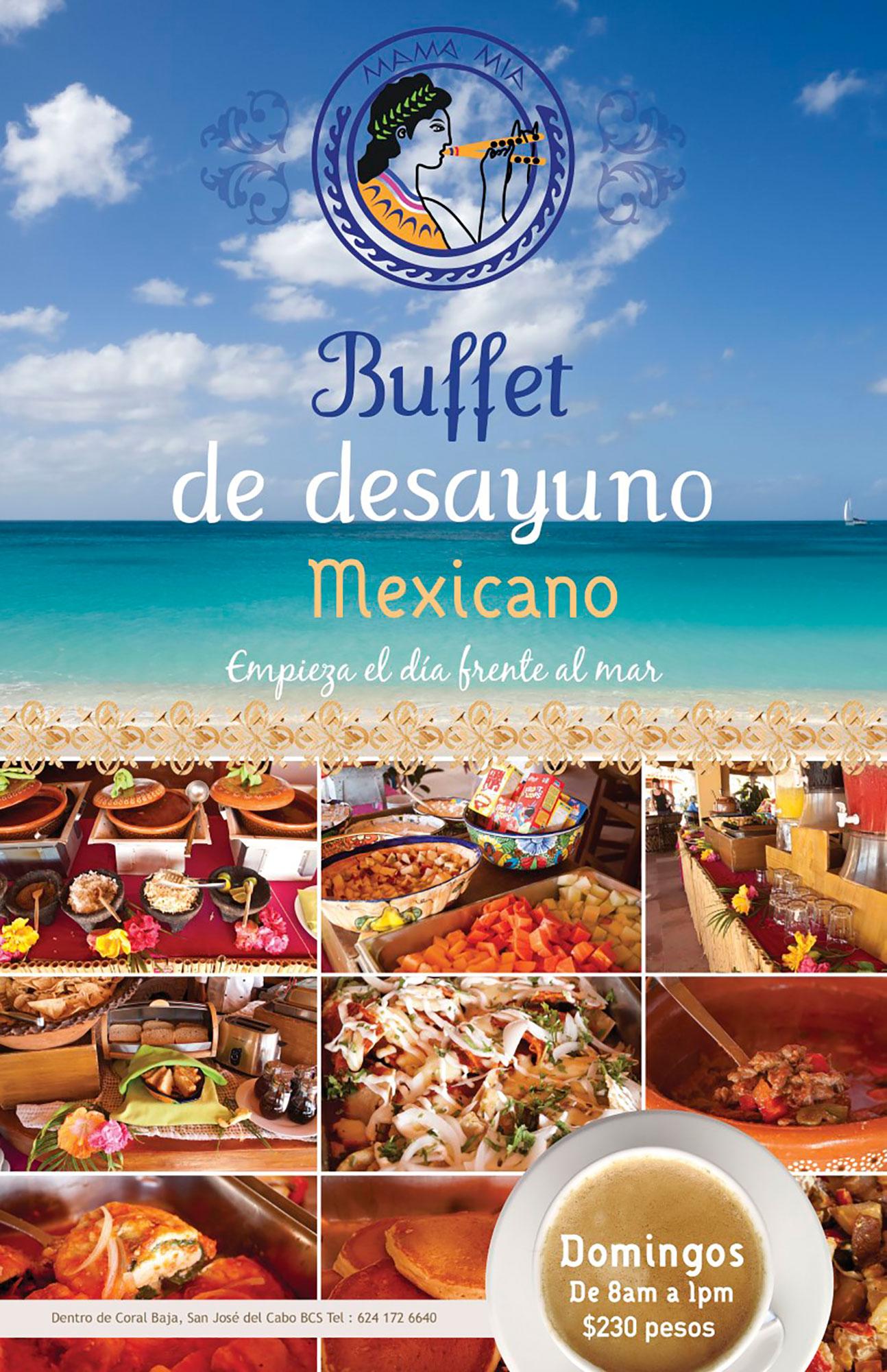 Poster Buffet Dominical