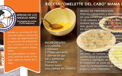 Omelette del Cabo – Receta