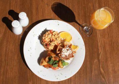 Desayuno, huevos mexicana